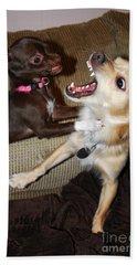 Attack Dogs Bath Towel