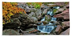 Autumn At Kaaterskill Hand Towel