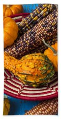 Autumn Basket  Bath Towel
