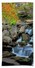 Autumn Cascade Hand Towel