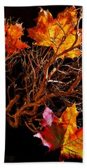 Autumnal Feelings Bath Towel