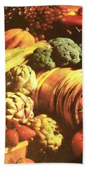 Hand Towel featuring the photograph Autumn's Bounty by Sharon Duguay