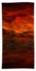 Autumn's Grace Hand Towel by Lourry Legarde