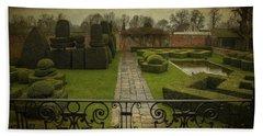 Avebury Manor Topiary Hand Towel