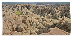 Badlands  Bath Towel