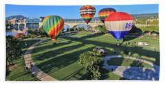 Balloons In Coolidge Park Hand Towel