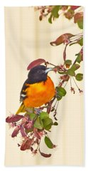 Baltimore Oriole Hand Towel