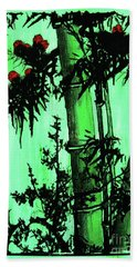Bamboo Forest Hand Towel by Roberto Prusso