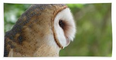 Barn Owl Bath Towel