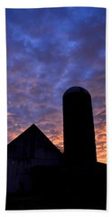 Barnyard Sunrise I Bath Towel