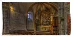 Baroque Church In Savoire France 3 Hand Towel