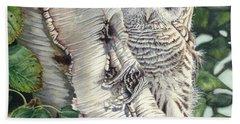 Barred Owl II Hand Towel