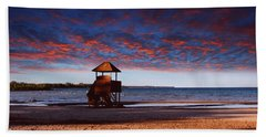 Beach Sunset Bath Towel