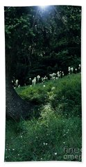 Bear-grass Ridge II Bath Towel by Sharon Elliott