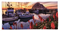 Beautiful Morro Bay Hand Towel