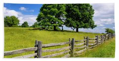 Beautiful Virginia Pasture Hand Towel