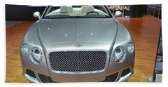 Bentley Starting Price Just Below 200 000 Bath Towel by Randy J Heath
