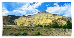 Big Rock Candy Mountain - Utah Bath Towel