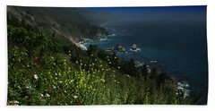 Big Sur California Hand Towel