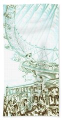 Big Wheel Bath Towel
