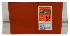 Biohazard Bin Bath Towel