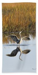 Bird Dance Bath Towel by Kay Lovingood
