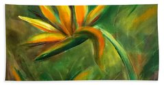 Bird Of Paradise 88 Bath Towel