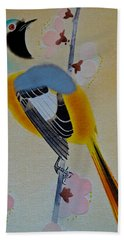 Bird Print Hand Towel by Julia Wilcox