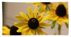 Black Eye Susan Hand Towel