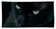 Black Panther Hand Towel