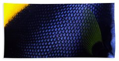 Blue And Yellow Scales Hand Towel