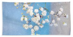 Blue Morning Hand Towel by Lyn Randle