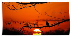 Bluebird Dawn Hand Towel