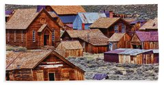 Bodie Ghost Town California Hand Towel