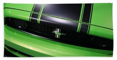 Hand Towel featuring the photograph Boss 302 Ford Mustang by Gordon Dean II