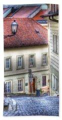 Bratislava. As The City Sleeps Bath Towel