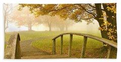 Bridge To Autumn Hand Towel