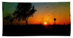 Hand Towel featuring the photograph Bring On The Day by Joel Witmeyer