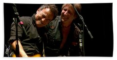 Bruce Springsteen And Danny Gochnour Bath Towel