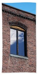 Bath Towel featuring the photograph Building Series - Sky Views by Kathleen Grace
