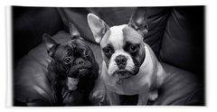 Bulldog Buddies Bath Towel
