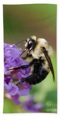 Bumblebee 2 Hand Towel by Betty LaRue