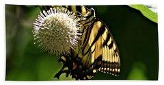 Butterfly 2 Bath Towel by Joe Faherty