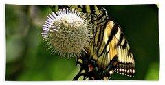 Butterfly 3 Hand Towel by Joe Faherty