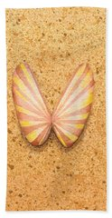 Butterfly Sea Shell Hand Towel