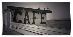 Cafe On The Pier Hand Towel
