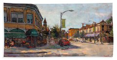 Caffe' Aroma In Elmwood Ave Hand Towel