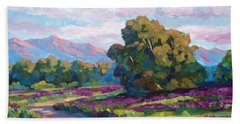 California Hills - Plein Air Hand Towel