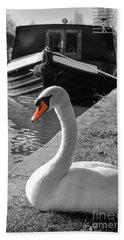 Canal Swan Bath Towel