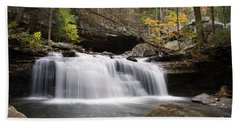 Canyon Waterfall Bath Towel